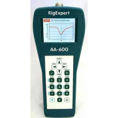 RigExpert AA 600   Analizzatore d'antenna (0.1 to 600 MHz)