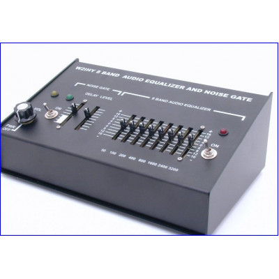 W2IHY 8 Band Audio Equalizer and Noise gate